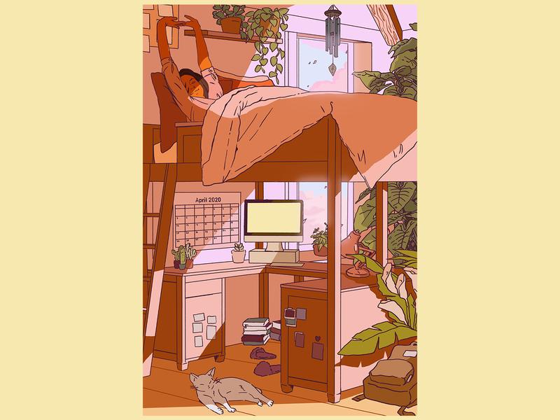 Postcard - Corona