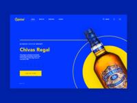 Landing Page - Liquor Store