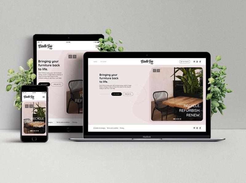 Estelle Ivie UI design