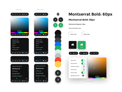 Guideline frammr kosov interactivearts service product board edit text ux ui gui guideline