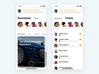 Blockchain Messenger veon stream live coins instagram facebook newsfeed messenger xrp bitcoin cryptocurrency blockchain ios app ux product mobile minimal ui kosov