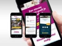 Geas.nl mobile design