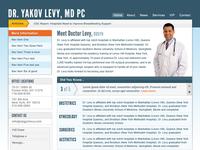 Final layout design doctor's website