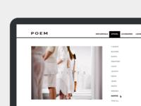 Poem - Clean fashion shop template