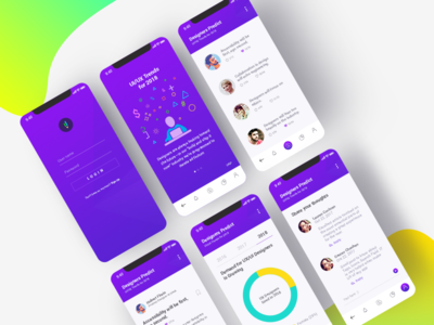 Trendy Mobile App Design
