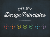 OpenTable Design Principles