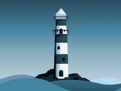 Lighthouse design vector illustration