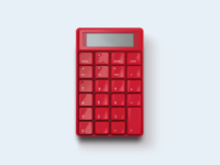 DailyUI 004 — Calculator