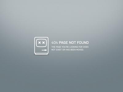 DailyUI 008 — 404 page macintosh128k error 404 dailyui
