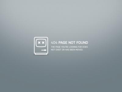 DailyUI 008 — 404 page