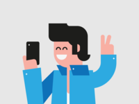 People from LoyaltyOne - Selfie