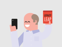 People from LoyaltyOne - CEO ceo character vector illustration
