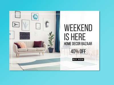 Weekend Sale Banner