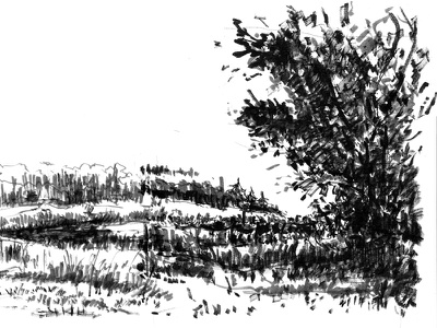 Bg of my new painting ;) sketch