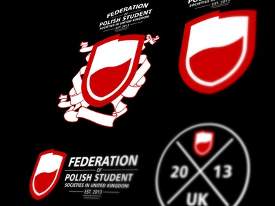 Federation of Polish Student Societies in UK branding design last works art direction