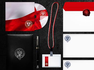 Oxford University Polish Society Branding branding design last works art direction