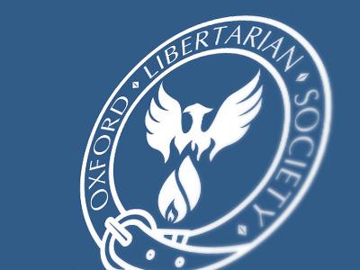 Oxford Libertarian Society (now Hayek Society) branding design last works art direction