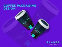 Sharing Planet Coffee Packaging Design