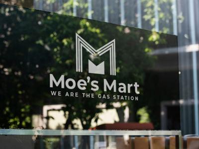 Moes's Mart gas station company logo