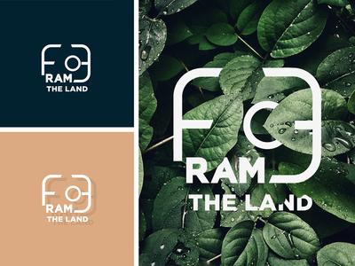 Frame The Land Photography logo design