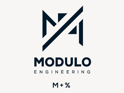 Modulo Engineering Logo design.