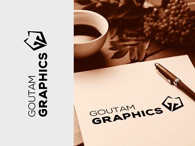 Goutam Graphics youtube logo clean creative design pencil youtube minimalist logos logo design logodesign vector illustration abstract
