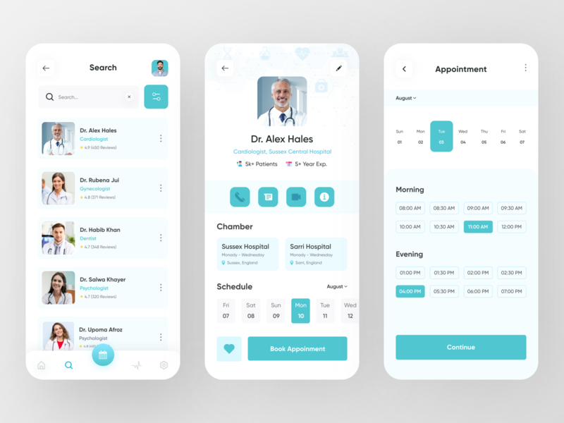 MediLab - Medical App doctor healthcare health medical design medical care medical app medicine medical app design application trendy mobile app colorful popular mobile dribbble best shot 2020 trend app ux ui