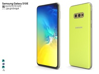Samsung Galaxy S10E - accurate 3D CAD model