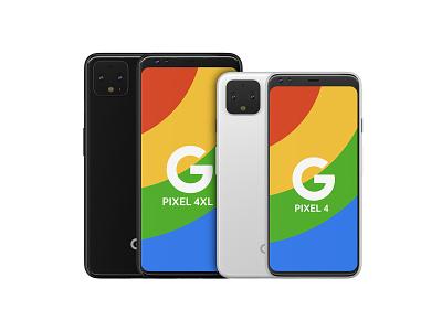 Pixel 4 + 4XL high poly 3D model for download electronics smartphones rendering cad 3d modeler 3d models 3d model poly high high-poly smartphone pixel 4xl pixel 4 google pixel