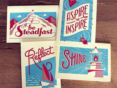 Holstee  cards illustration