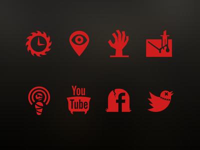 Scarehouse icons
