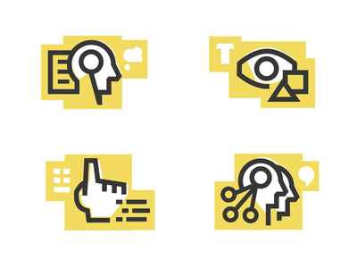 Bearded.com icons icons redesign