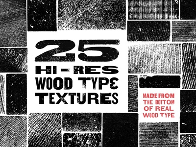 Wood Type Revival Wood Type Textures printing textures wood type letterpress