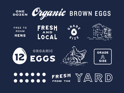 Egg Carton Assets carton chicken egg eleven concepts logo farm