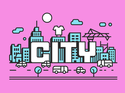 Cotton Bureau City Challenge illustration