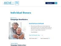Individual donors   desktop