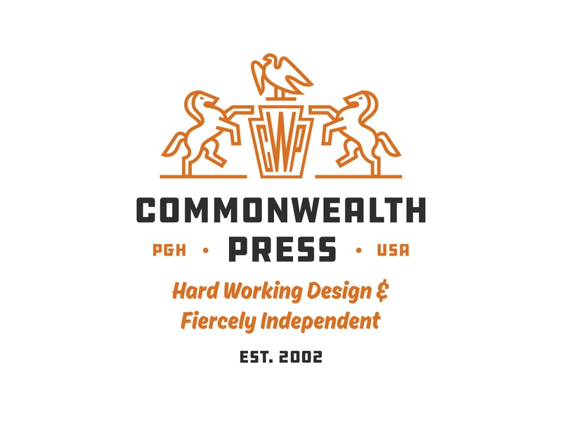 Commonwealth Press logo illustration