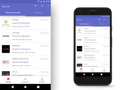 Mobile App for Job Portal