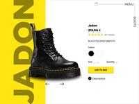 Product page - Dr Martens Jadon