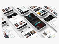 Mobile application - Series Addict