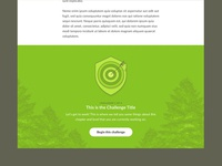 Challenge Footer