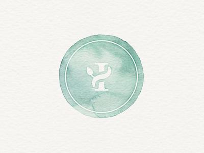 Watercolor Logo / Stamp
