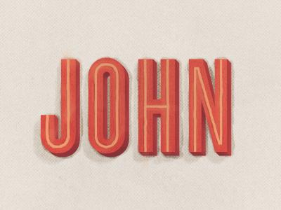 John painting dribble