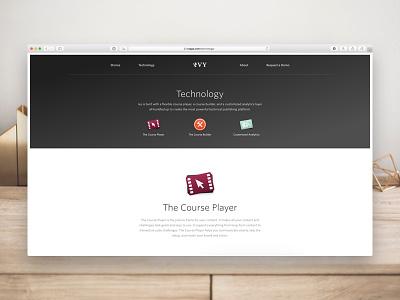 Ivy • Technology icons illustrations website web interactive app ux ui whitney marketing