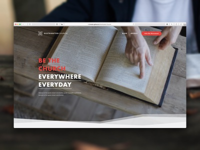 Northland • The Distributed Church futura blog ux ui video photography vision mission website web