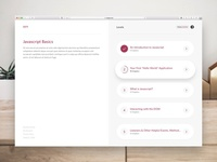 Ivy • Course Dashboard