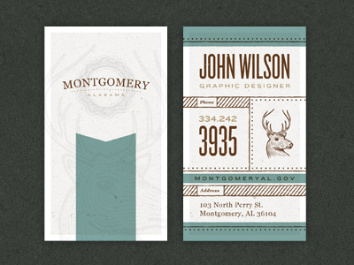 Business Cards montgomery alabama branding identity stationary letter head letterhead business card envelope texture color school project