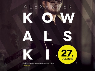 Nisava Open Air Festival Poster party festival poster techno alexander kowalsky