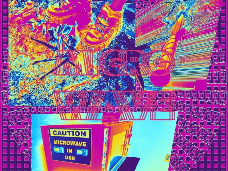 MICROWAVE // DAY46 - Feekaj future liquify debut blue baugasm painting dribbble photoshop design purple screen knife feet gradient color picture maping map gradient micro-wave microwave
