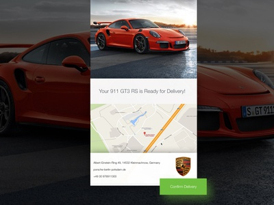 Porsche UI concept